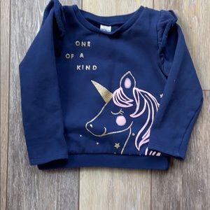 Carter's unicorn sweatshirt